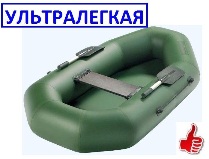 надувная одноместная лодка с гребками